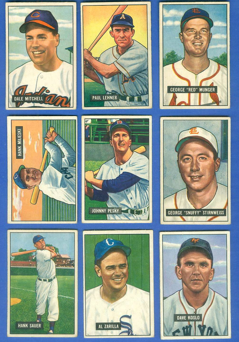1951 Bowman #.21 Snuffy Stirnweiss (St. Louis Browns/Indians) Baseball cards value