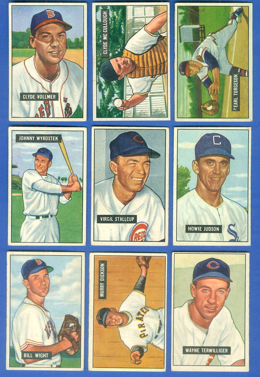 1951 Bowman #123 Howie Judson [#x] (White Sox) Baseball cards value