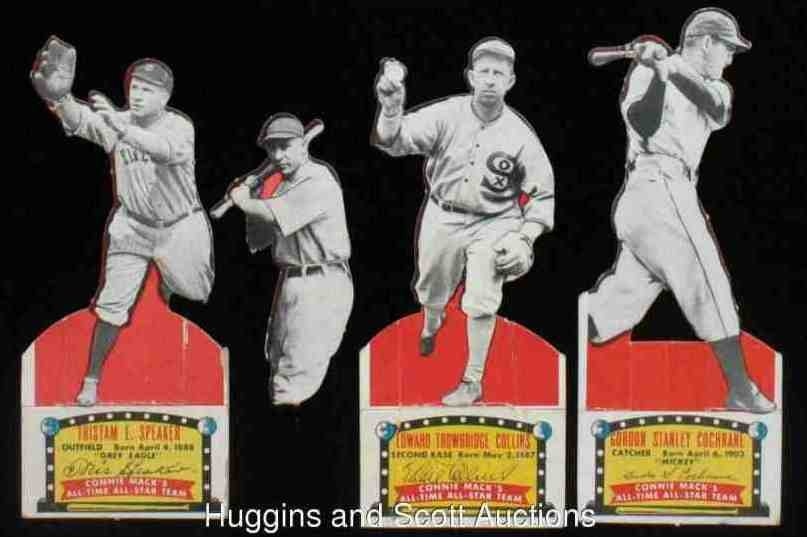 1951 Topps Connie Mack's All-Stars - Tris Speaker (Indians) Baseball cards value