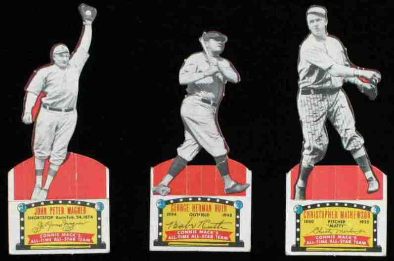 1951 Topps Connie Mack's All-Stars - Christy Mathewson All-Time Pitcher Baseball cards value