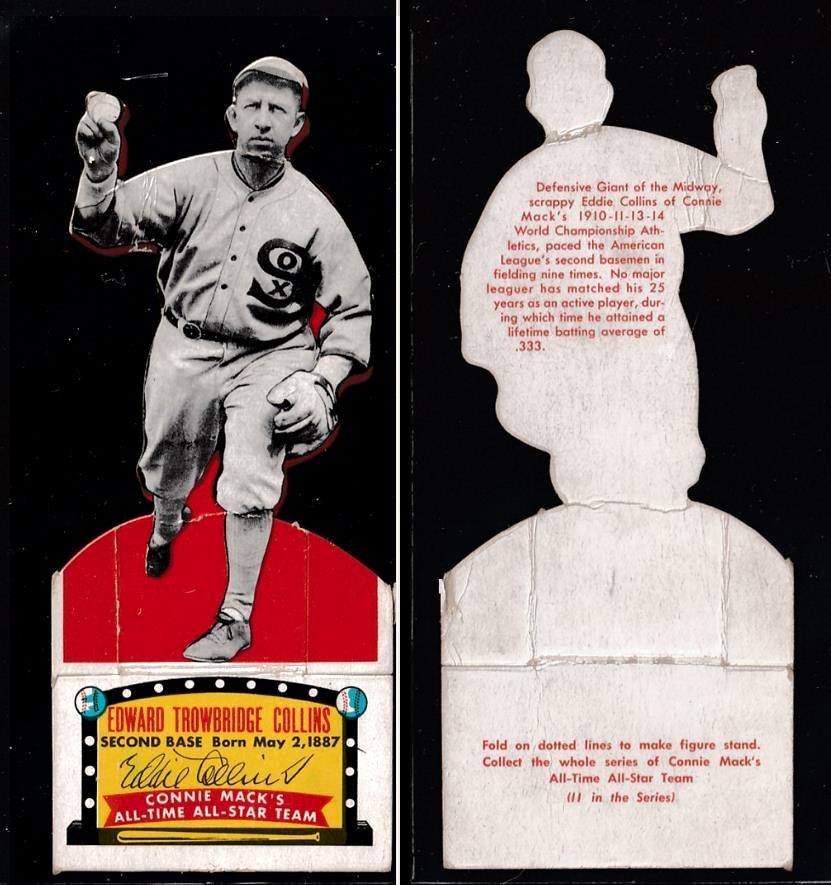 1951 Topps Connie Mack's All-Stars - Eddie Collins (White Sox) Baseball cards value