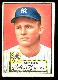 1952 Topps #  9 Bobby Hogue (Yankees)