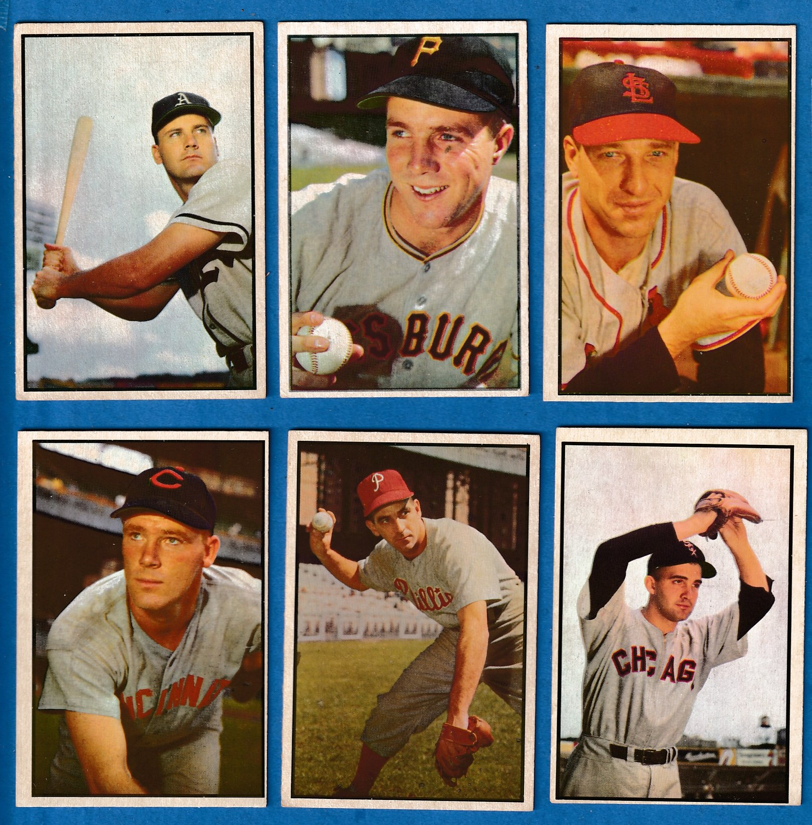 1953 Bowman Color # 23 Herman Wehmeier (Reds) Baseball cards value
