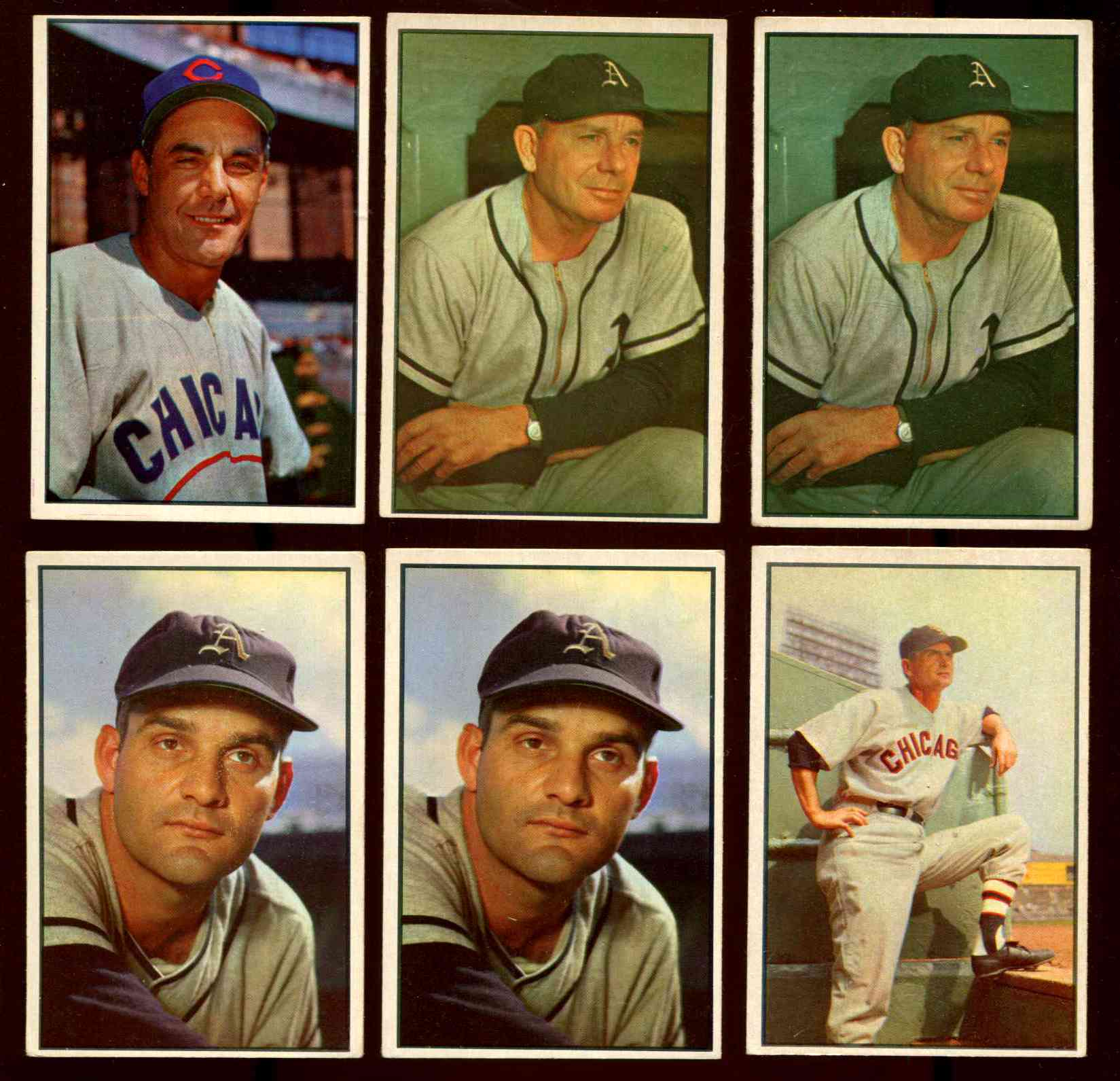 1953 Bowman Color # 30 Phil Cavarretta (Cubs) Baseball cards value