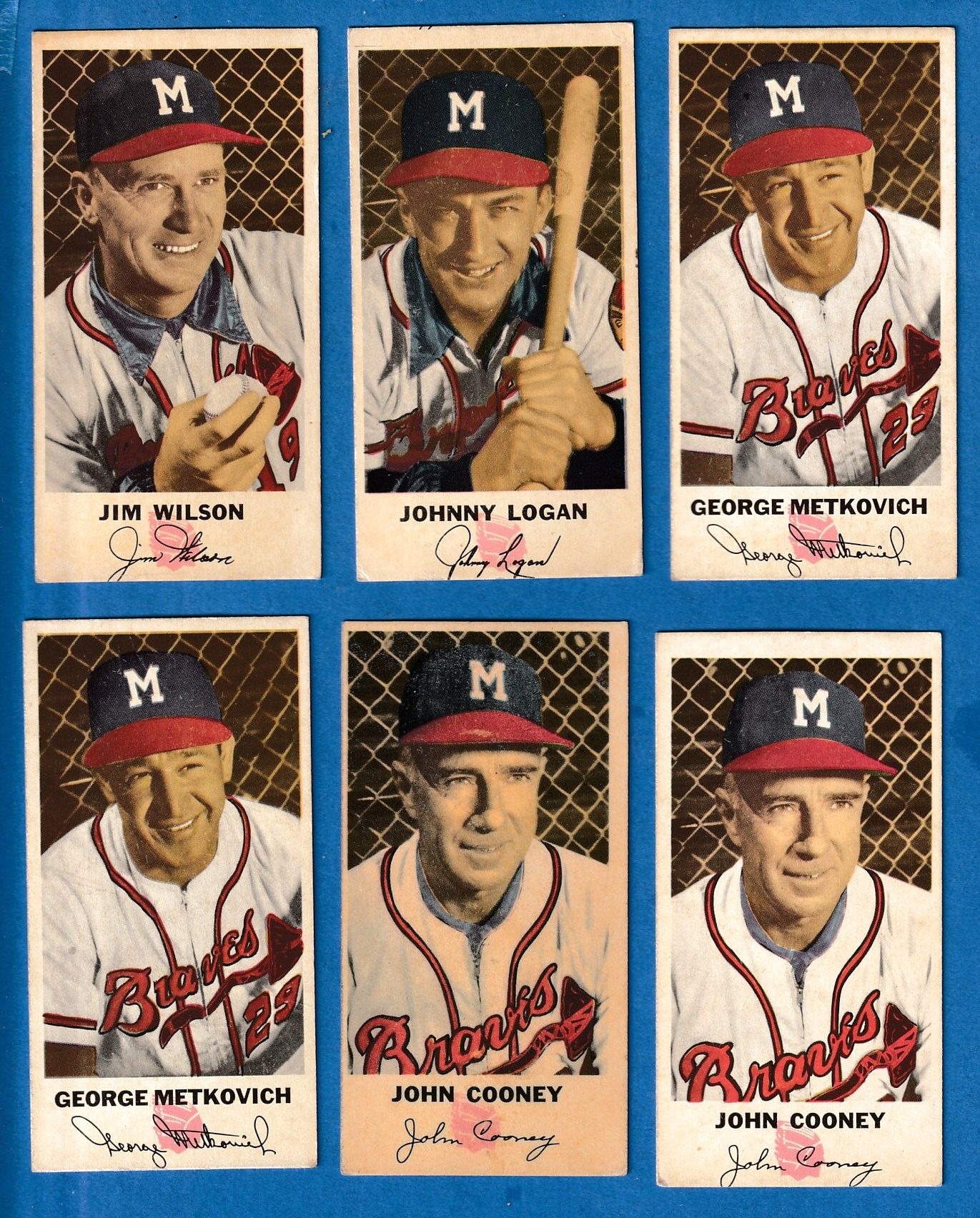 1954 Johnston Cookies #19 Jim Wilson (Braves) Baseball cards value