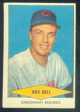 1954 Red Heart - Gus Bell [#b] (Reds) Baseball cards value