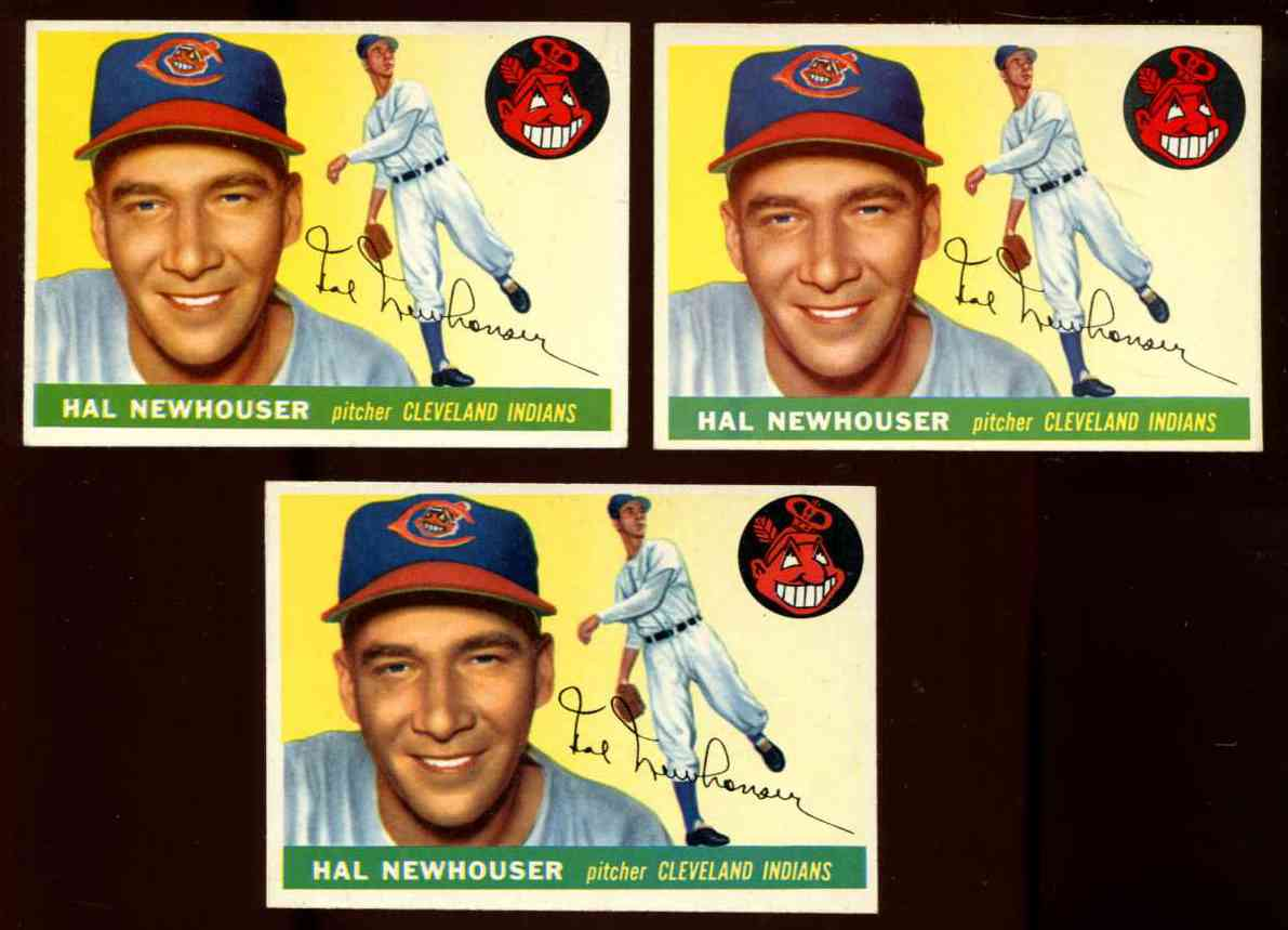 1955 Topps #.24 Hal Newhouser (Indians) Baseball cards value