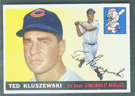 1955 Topps #120 Ted Kluszewski [#bsc] (Reds) Baseball cards value