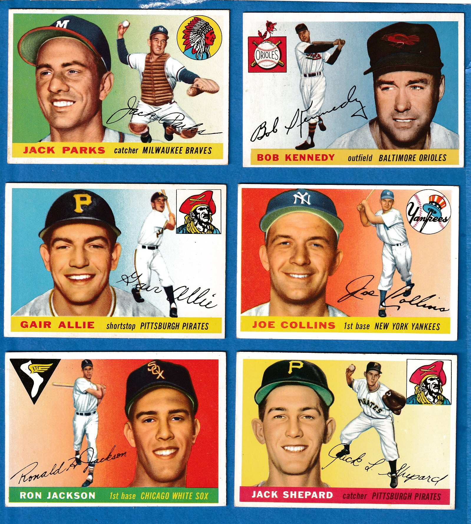 1955 Topps # 48 Bob Kennedy [#r] (Orioles) Baseball cards value