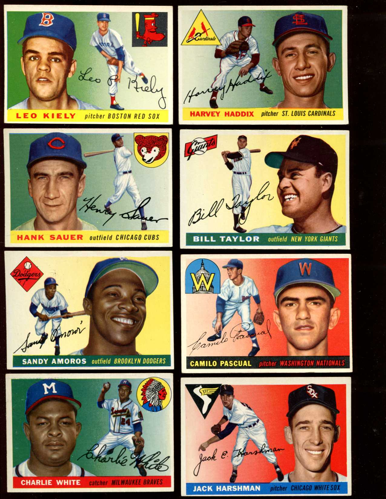 1955 Topps #.84 Camilo Pascual ROOKIE [#x] (Senators) Baseball cards value