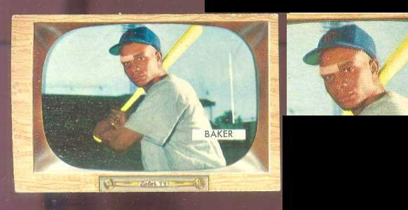 1955 Bowman #..7 Gene Baker ROOKIE (Cubs) Baseball cards value