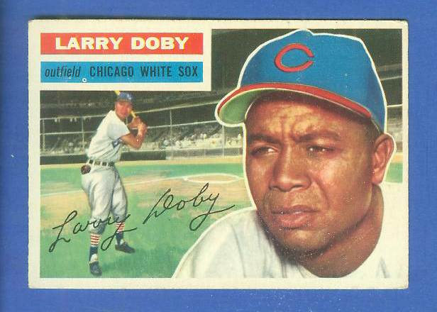 1956 Topps #250 Larry Doby [#b] (White Sox) Baseball cards value