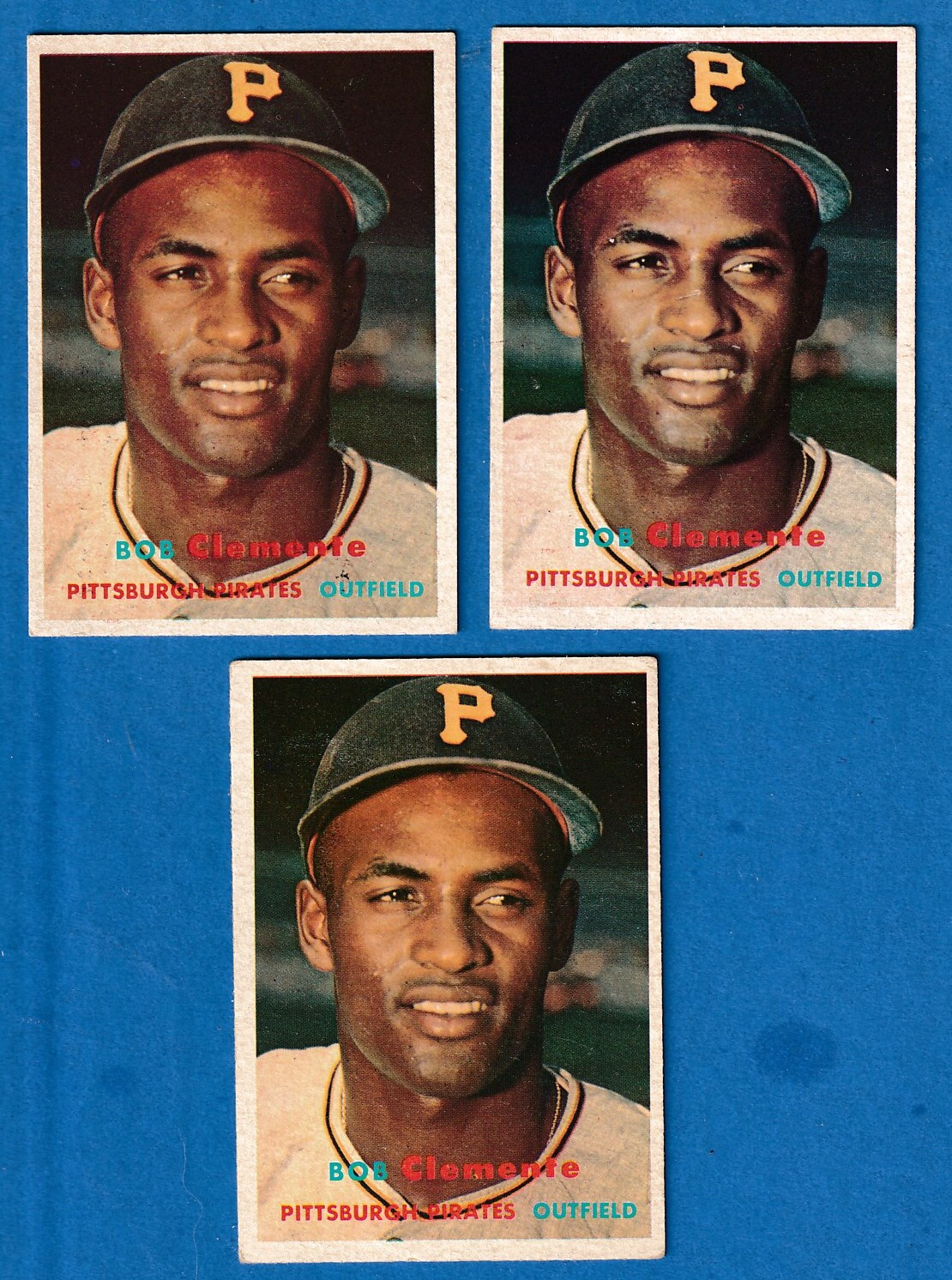 1957 Topps # 76 Roberto Clemente (Pirates) Baseball cards value