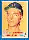 1957 Topps #338 Jim Bunning ROOKIE SCARCE MID SERIES (Tigers)