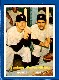 1957 Topps #407 Yankees Power Hitters w/MICKEY MANTLE & Yogi Berra [#a]
