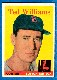 1958 Topps #  1 Ted Williams (Red Sox)