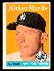 1958 Topps #150 Mickey Mantle (Yankees)