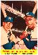 1958 Topps #418 Mickey Mantle/Hank Aaron [#a] (Yankees/Braves)
