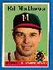 1958 Topps #440 Eddie Mathews (Braves)