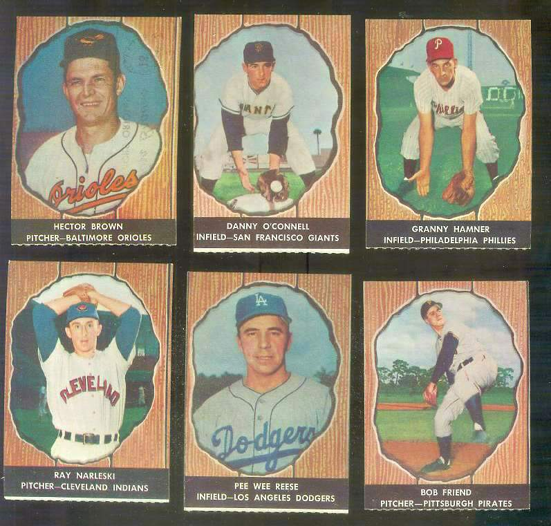 1958 Hires Root Beer 24 Bob Friend Pirates