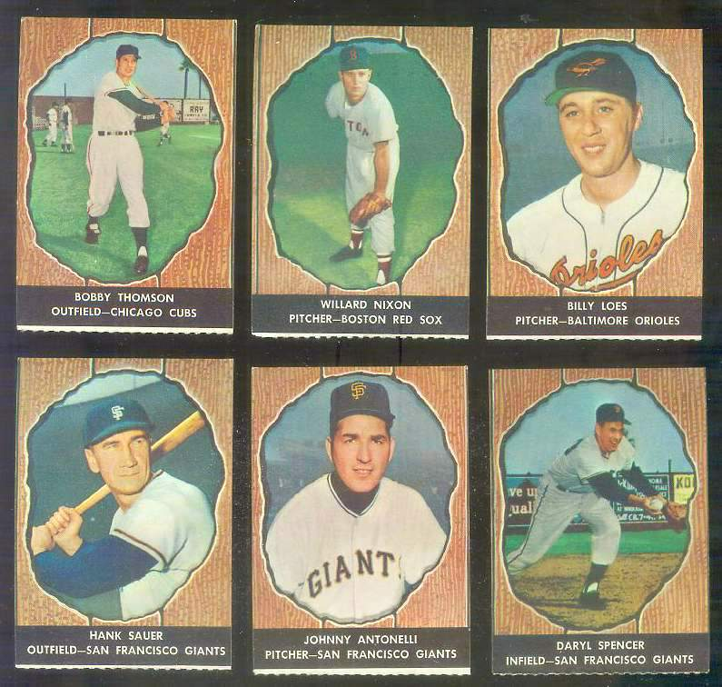1958 Hires Root Beer #50 Johnny Antonelli (Giants) Baseball cards value