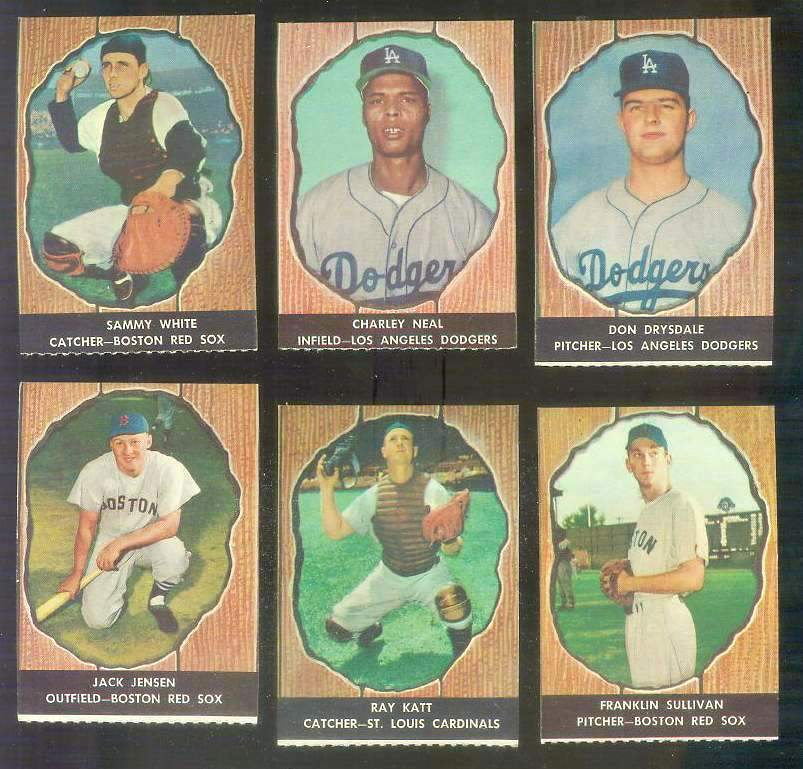 1958 Hires Root Beer #54 Charley Neal (Dodgers) Baseball cards value