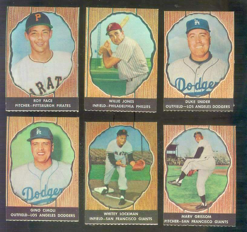 1958 Hires Root Beer #64 Marv Grissom (Giants) Baseball cards value