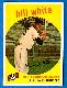 1959 Topps #359 Bill White ROOKIE [#a] (Giants)