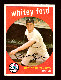 1959 Topps #430 Whitey Ford (Yankees)