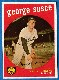 1959 Topps #511 George Susce SCARCE HIGH # (Tigers)