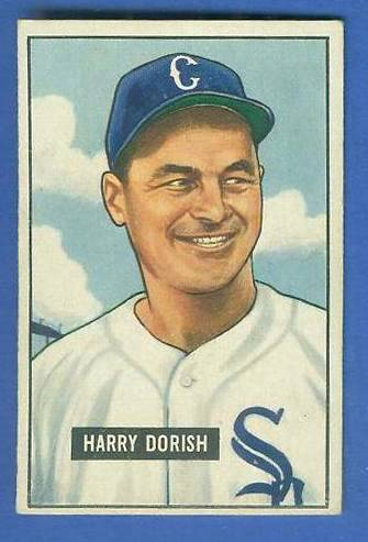 1951 Bowman #266 Harry Dorish SCARCE HIGH# (White Sox) Baseball cards value