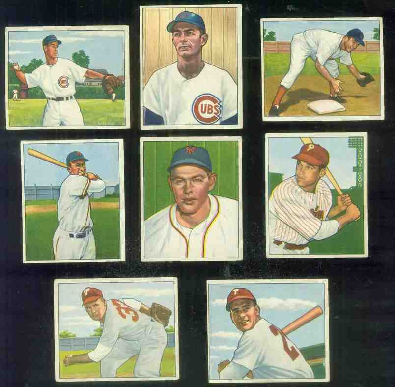 1950 Bowman #120 John Thompson [#sc] (Phillies) Baseball cards value
