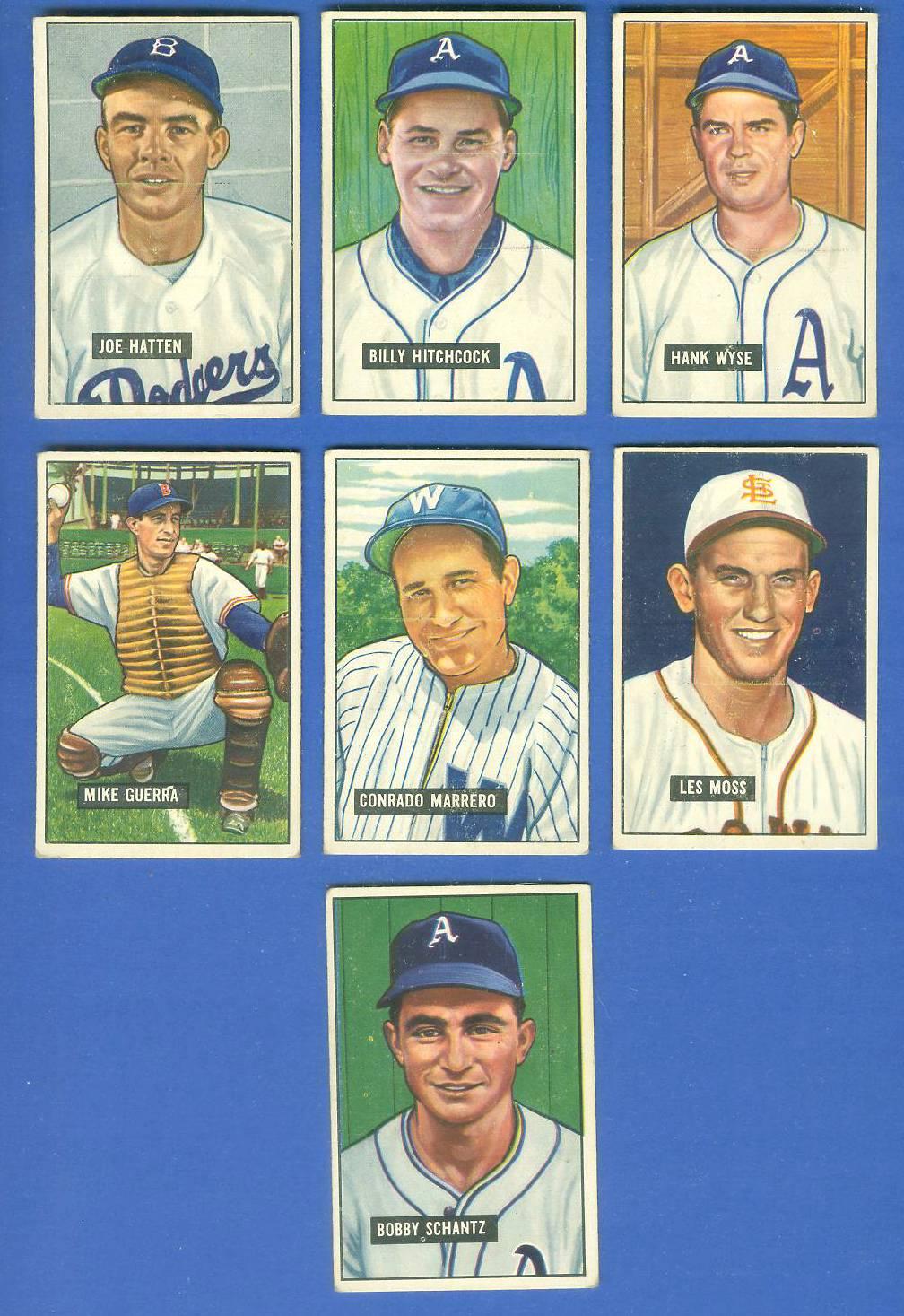 1951 Bowman #227 Bobby Shantz [#x] (Philadelphia A's) Baseball cards value