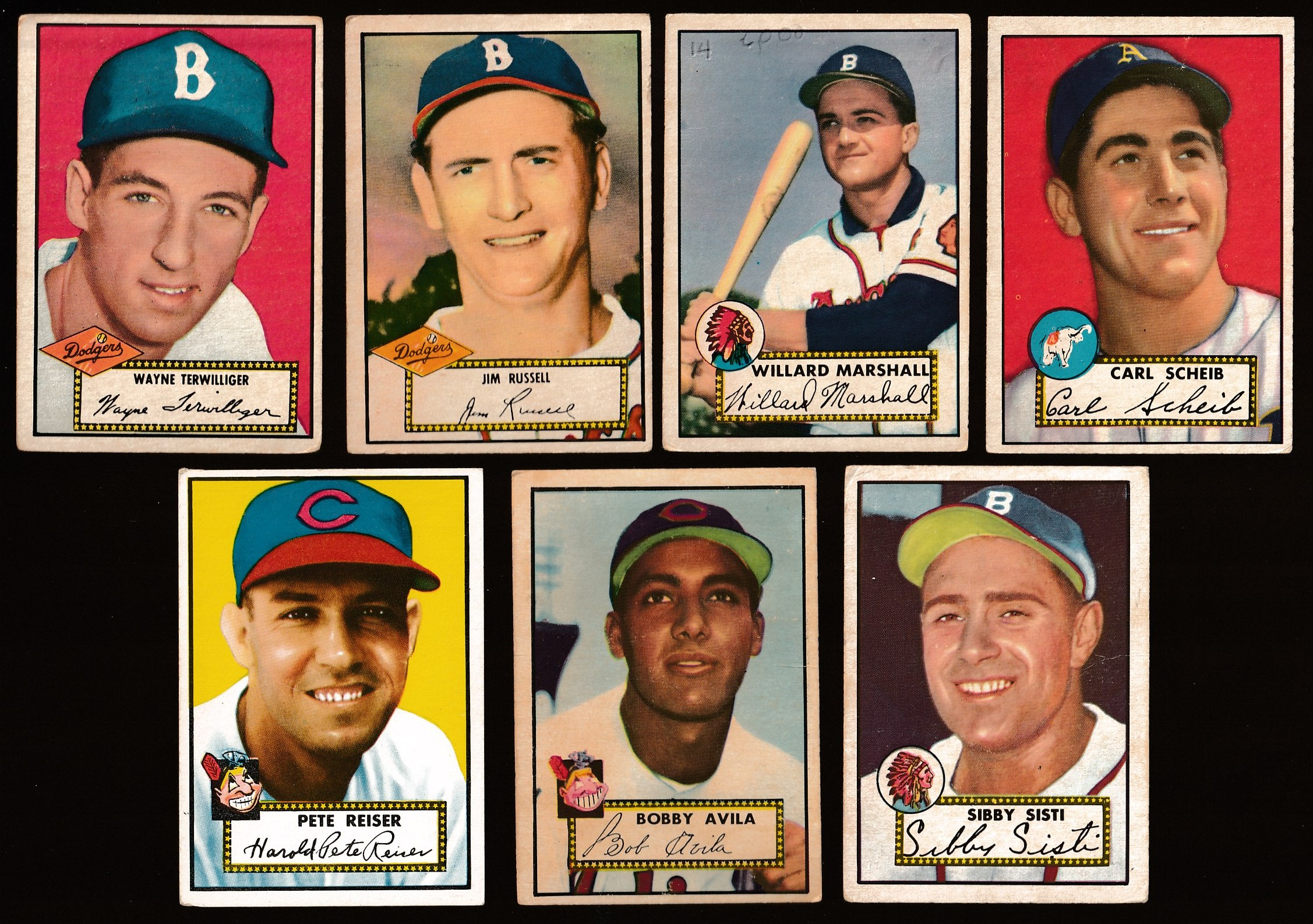 1952 Topps #293 Sibby Sisti SHORT PRINT (Boston Braves) Baseball cards value