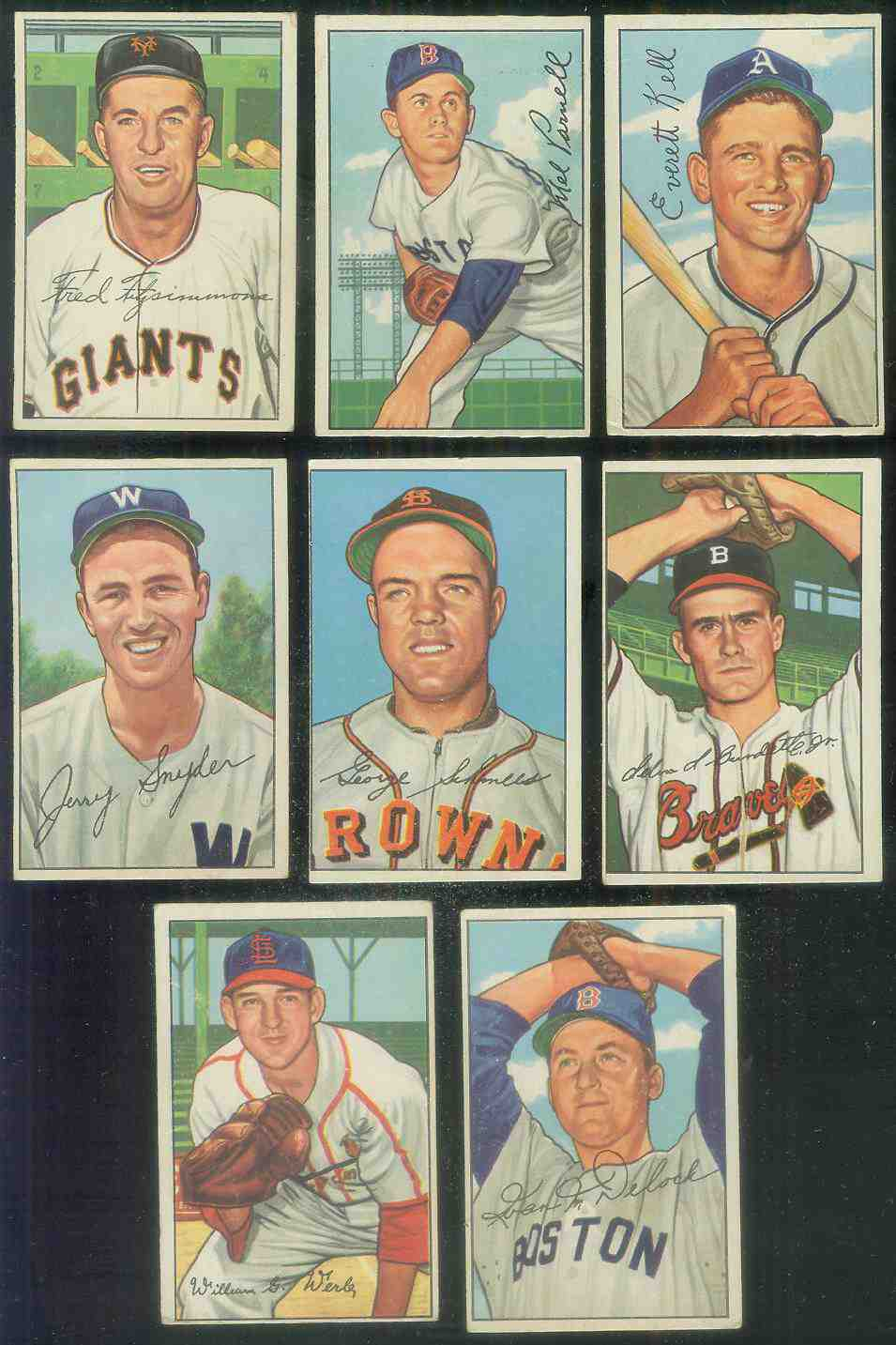 1952 Bowman #230 Frank Shea (Senators) Baseball cards value