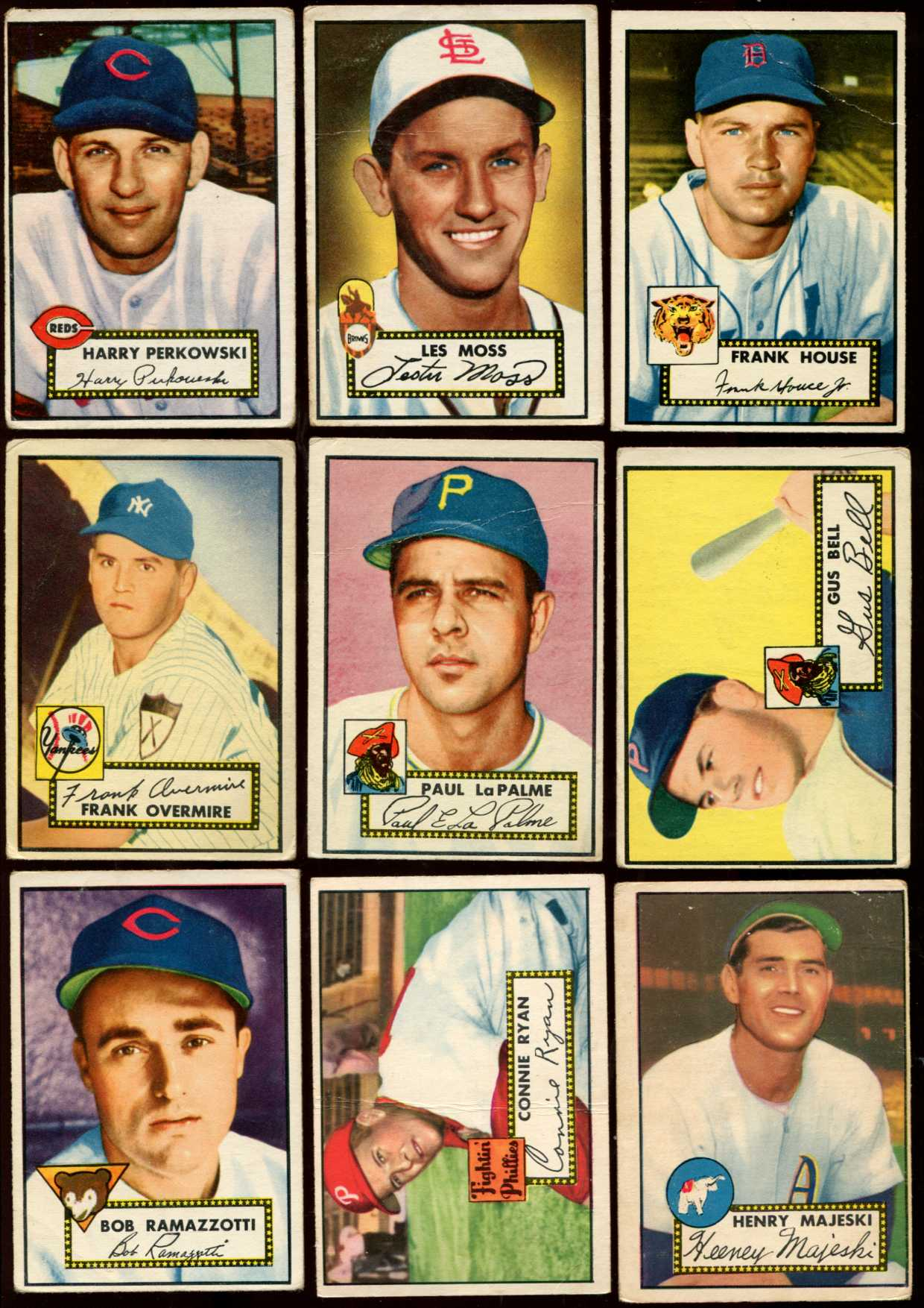 1952 Topps #122 Jack Jensen [#x] (Yankees) Baseball cards value