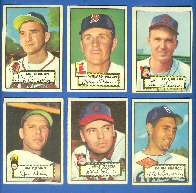 1952 Topps 270 Lou Brissie Indians