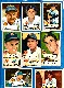 1952 Topps  - TIGERS - Starter Team Set/Lot (9 different)