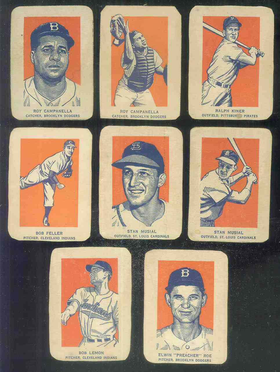 1952 Wheaties #22B Stan Musial ACTION (Cardinals) Baseball cards value