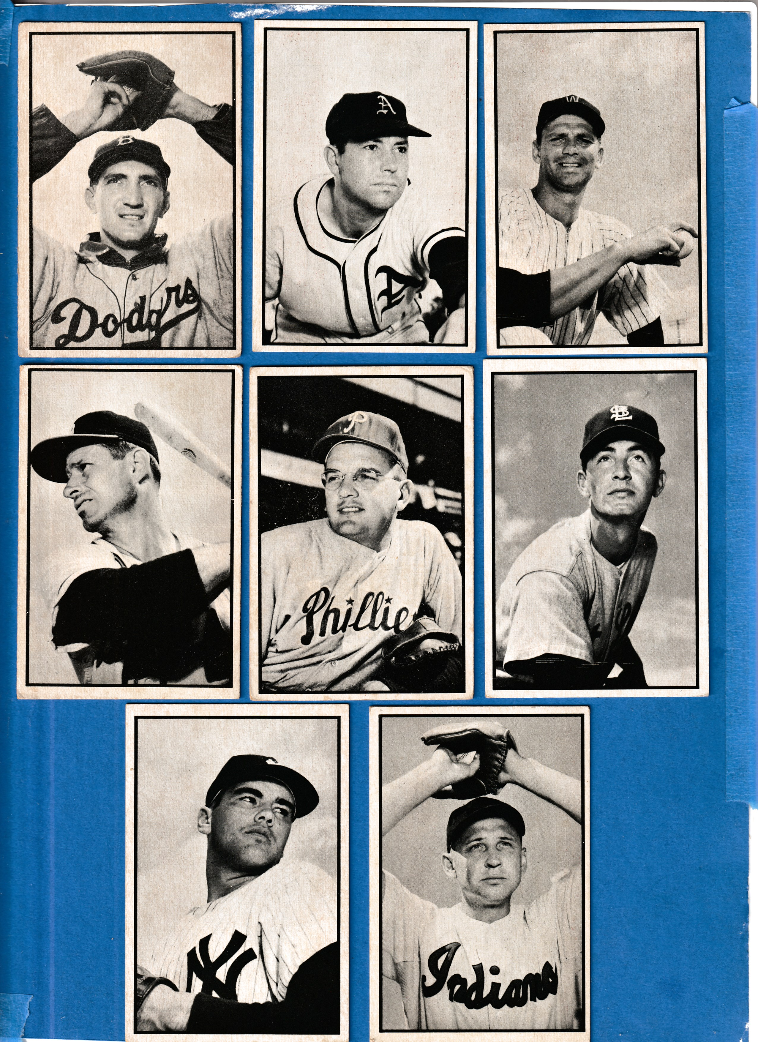 1953 Bowman B/W # 57 Andy Pafko (Braves) Baseball cards value