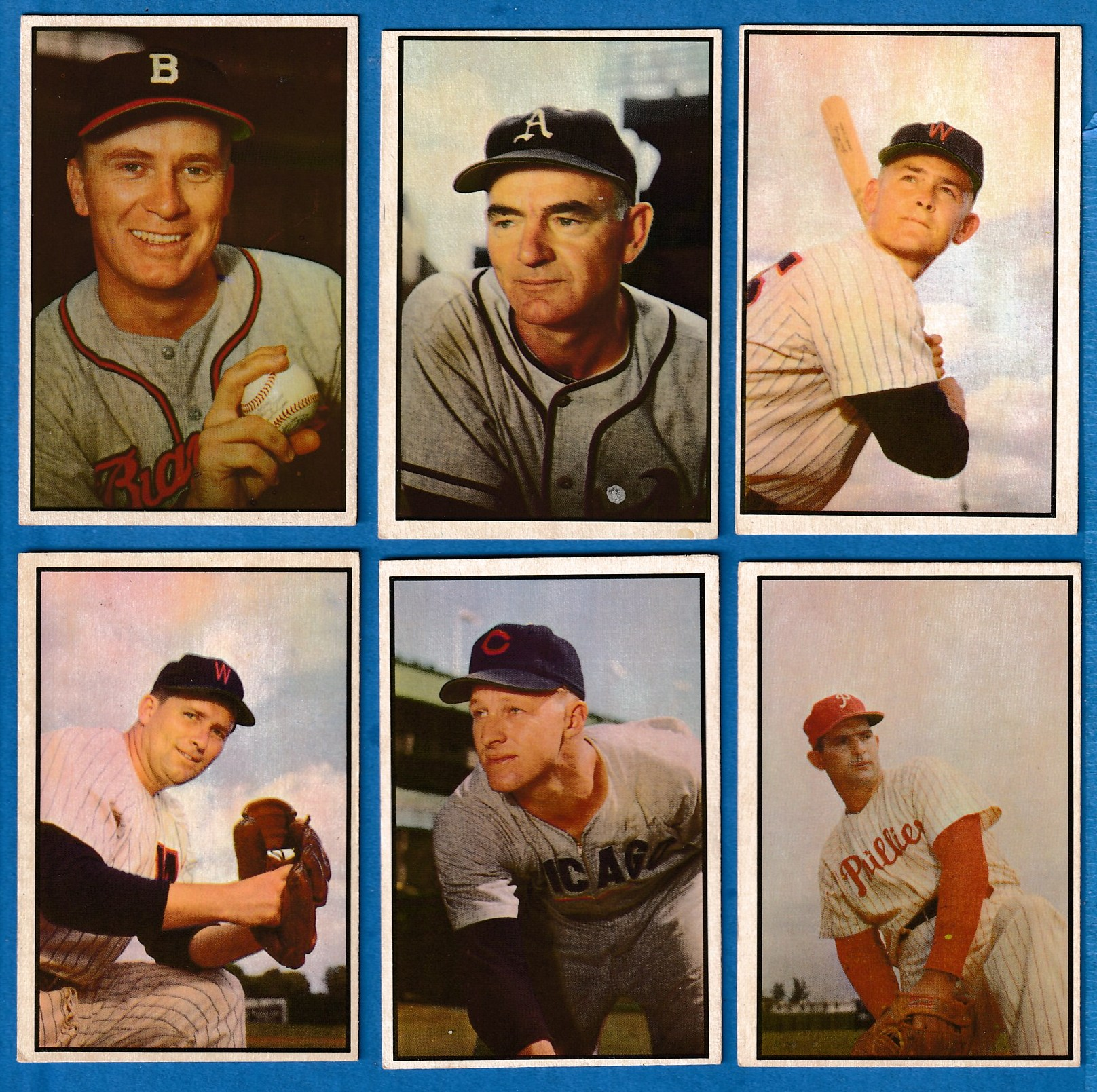 1953 Bowman Color # 37 Jim Wilson [#r1] (Braves) Baseball cards value