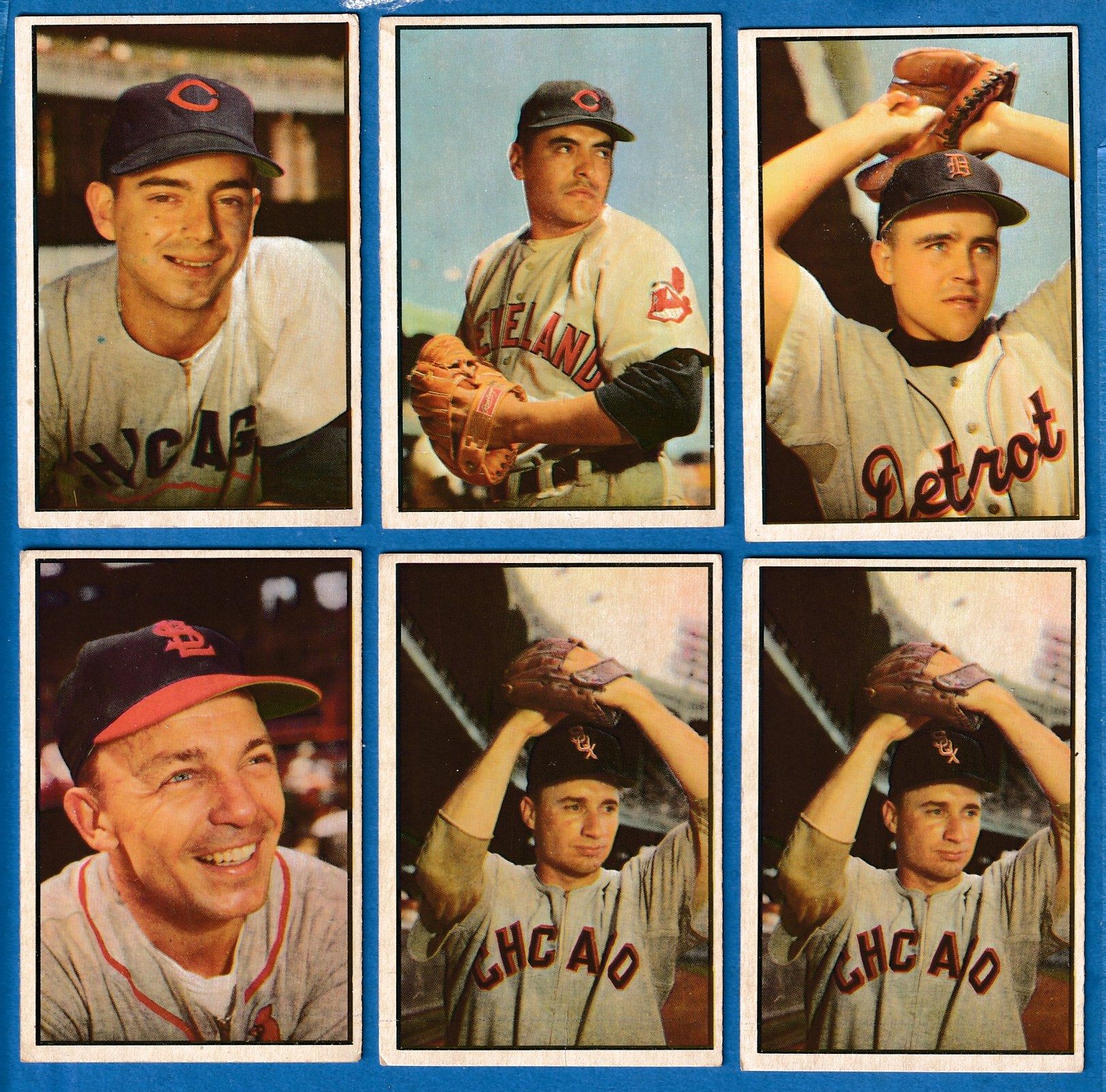 1953 Bowman Color # 50 Lou Kretlow [#r2] (White Sox) Baseball cards value