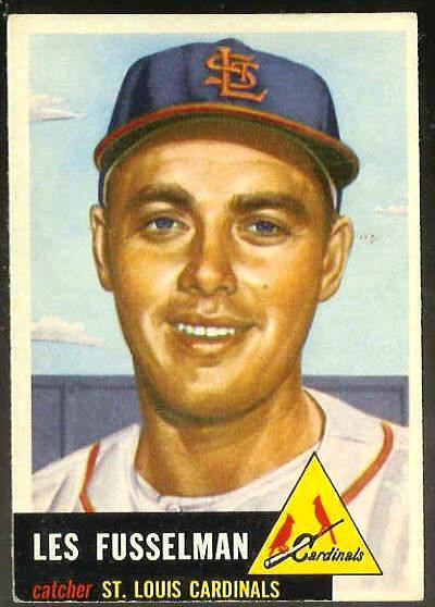 1953 Topps #218 Les Fusselman (Cardinals) Baseball cards value