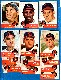 1953 Topps  - INDIANS - Starter Team Set/Lot (12 different)