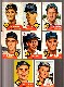 1953 Topps  - TIGERS - Starter Team Set/Lot (11 different)
