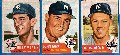 1953 Topps  - YANKEES - Starter Team Set/Lot (13 different)