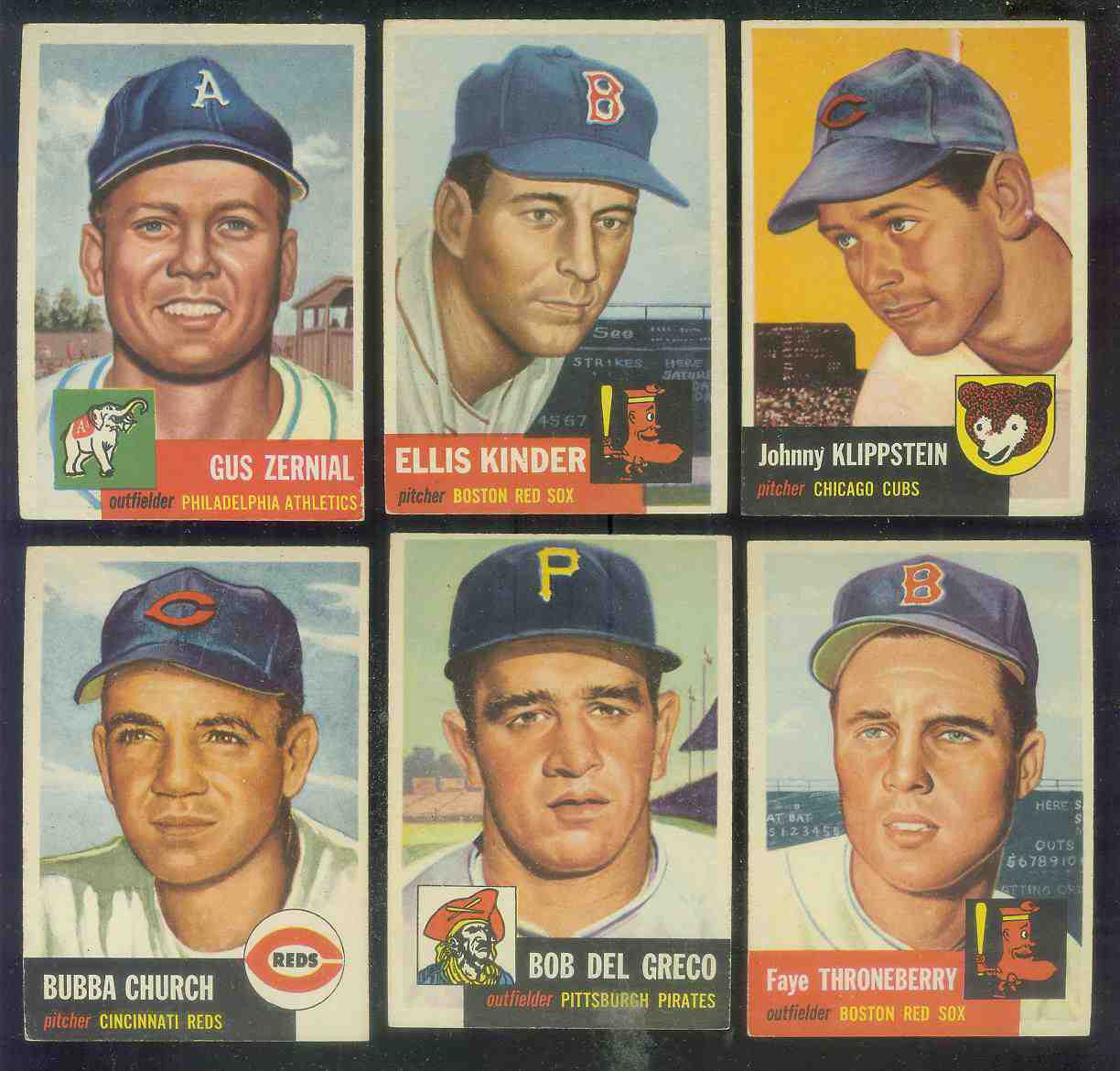 1953 Topps #.44 Ellis Kinder SHORT PRINT (Red Sox) Baseball cards value