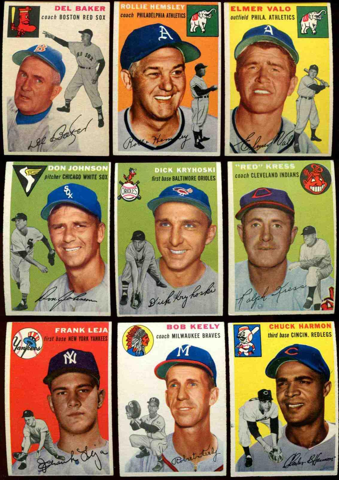 1954 Topps #150 Dick Kryhoski [#x] (Orioles) Baseball cards value