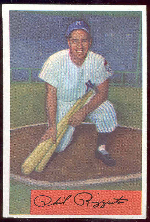 1954 Bowman #..1 Phil Rizzuto [#x] (Yankees) Baseball cards value