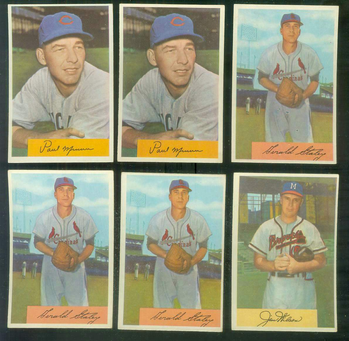 1954 Bowman #.13 Paul Minner (Cubs) Baseball cards value